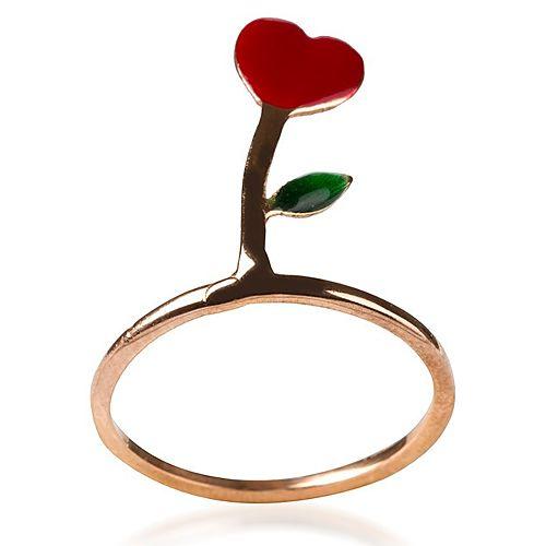 Nihan Atakan Aşk Çiçeği Bronz Yüzük