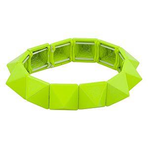 Parlaque    Neon Sarı Chic & Edgy Bileklik