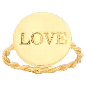 Ümit Aybek    Pembe Altın Love Yüzük