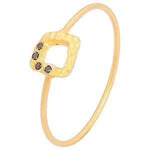 Elif Doğan Jewelry    Köşeli Amorf İnce Yüzük