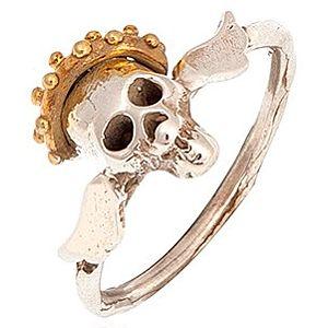Besign Jewellery    Altın Kaplama Kurukafa Yüzük