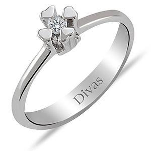 Divas Diamond    0,06 ct Pırlantalı Yüzük