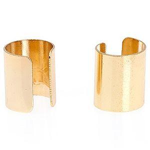 Pieces    Altın Kaplama Mutune Must Big Ear Küpe