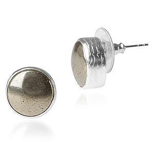 Toosis Prit Gümüş Çivi Küpe