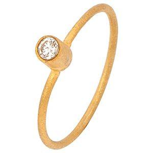Elif Doğan Jewelry    Altın Tek Taş Yüzük