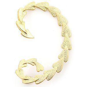 Esmer Bijuteri    Altın Rengi Kalpli Ear Cuff
