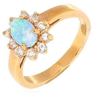 Jeogem    Opal Klasik Yüzük