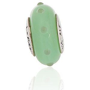 Pandora    Yeşil Noktalı Charm