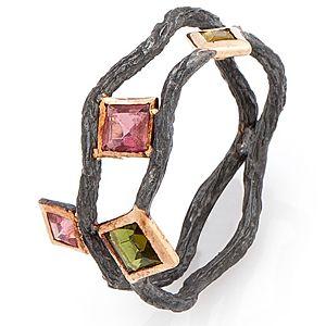 Elif Doğan Jewelry    Çift Tur Dal Yüzük