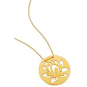 Kamalaya Design    Lotus Altın Kaplama Zincir Kolye
