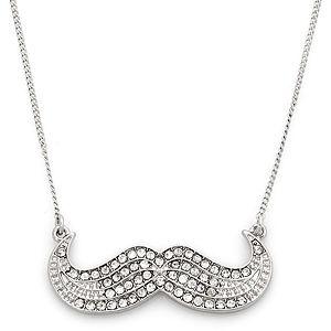 Accessorize    Crystal Moustache Kolye