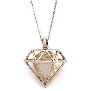 Accessorize    Geo Diamond Long Kolye