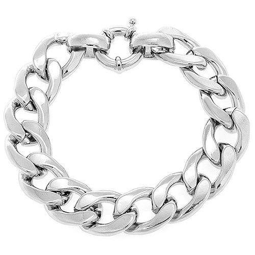 MiaRossa    Gümüş Rengi Zincir Bileklik
