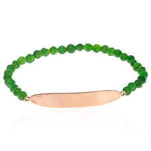 SHAINA    Pure Green Parlak Bileklik
