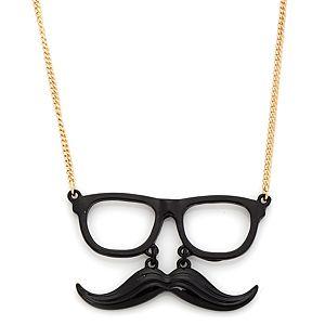 Accessorize    Glasses Moustache Kolye
