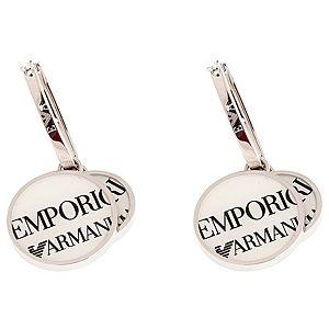 Emporio Armani    Çift Halkalı Küpe