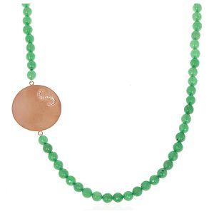 SHAINA    Green Kolye