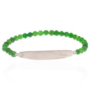 SHAINA    Pure Green Mat Bileklik