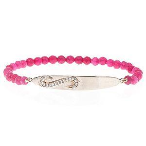 SHAINA    Shiny Pink Bileklik