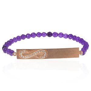 SHAINA    Shiny Purple Bileklik