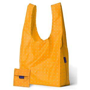 BAGGU    Sarı Puantiyeli Çanta