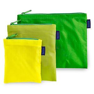 BAGGU    Yeşil Zipper S Çanta