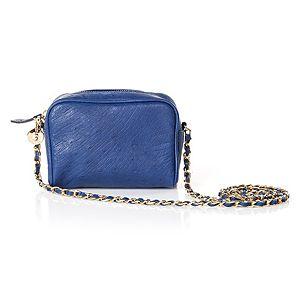 Begart    Saks Mavi Mini Çanta