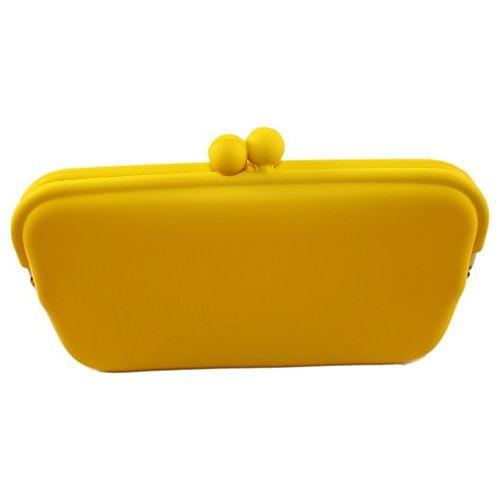 Essera    Sarı Dikdörtgen Rubber Çanta
