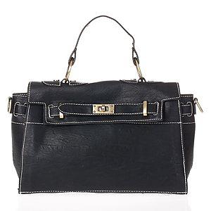 KOTON    Siyah Kemer Detaylı Çanta