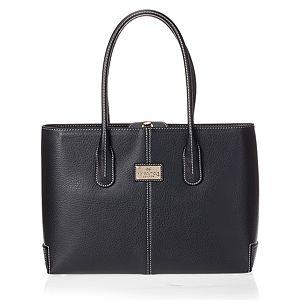 Vivi Boutique    Siyah Beyaz Dikişli Çanta