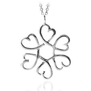 BRC Design Gümüş Kalp Kolye