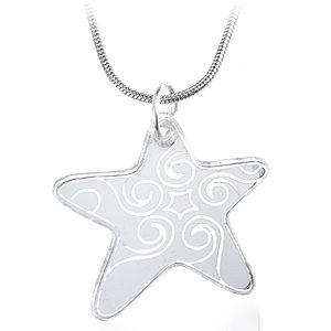 Bugga Gümüş Yıldız Mini Kolye