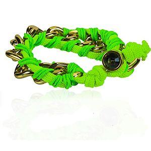 Charmella Yeşil Şanslı Şeyler Bileklik