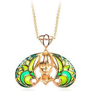 Vanilya Tasarım Art Nouveau Yeşil Kolye