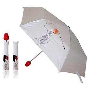 2B Trendy    Kırmızı Gül Saplı Şemsiye