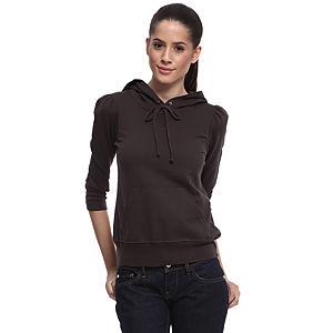 Juicy Couture Kapüşonlu Füme Sweatshirt