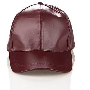 Pieces Luna Deri Beyzbol Şapkası