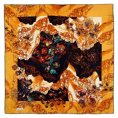 Pierre Cardin Desenli İpek Eşarp