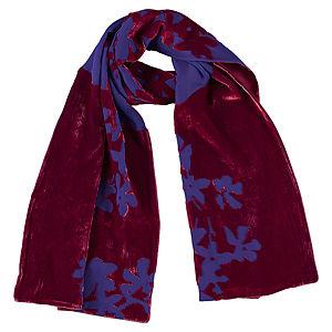 Giorgio Armani Çiçekli Kırmızı/Mor Şal