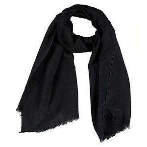 Giorgio Armani Siyah Yün Şal