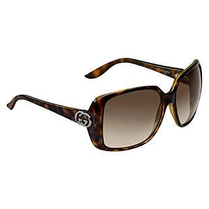 Gucci Kahverengi Kemik Güneş Gözlüğü