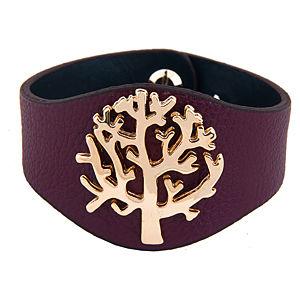 Hayat Ağacı Mor Bileklik