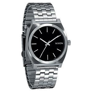 Nixon Gümüş Rengi/Siyah Saat