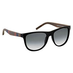 Tommy Hilfiger Siyah/Ahşap Güneş Gözlüğü