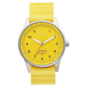 Triwa Yellow Lomin Saat