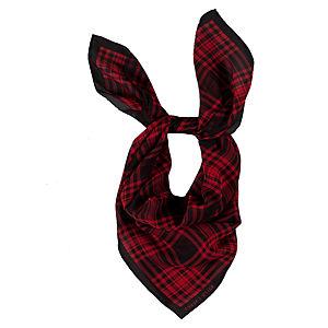 Ralph Lauren Ekose Kırmızı/Siyah Fular