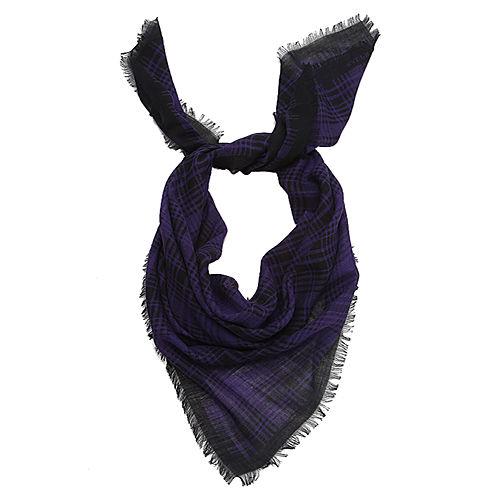 Ralph Lauren Ekose Mor/Siyah Fular