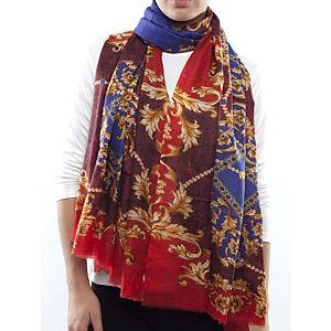 Silk and Cashmere Kırmızı Büyük Uzun Eşarp