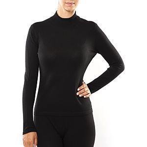 Silk and Cashmere Siyah Uzun Kollu T-Shirt
