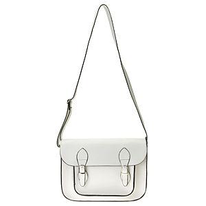 Sugar Bag Beyaz Postacı Çanta